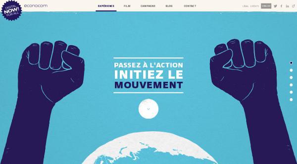 site internet en storytelling interactif