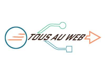 création du logo de Tous au Web