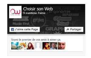 plugin facebook avec visage des amis