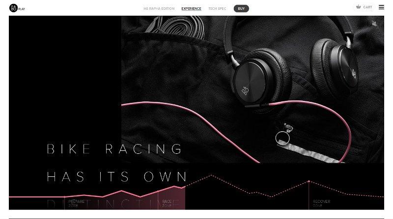site web noir et rose