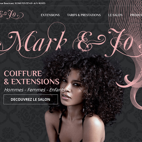 mark-and-jo.com site web