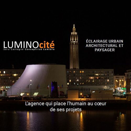 site internet LUMINOcité