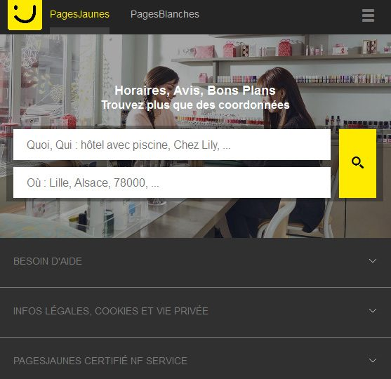 referencer son entreprise sur pagesjaunes.fr